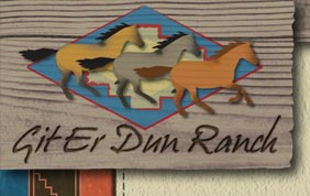 Git Er Dun Ranch logo
